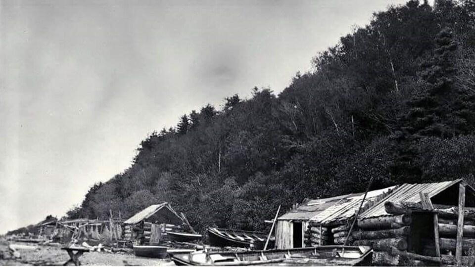 L'anthropologue Marius Barbeau a pris cette photographie lors de son passage à Tourelle en 1918