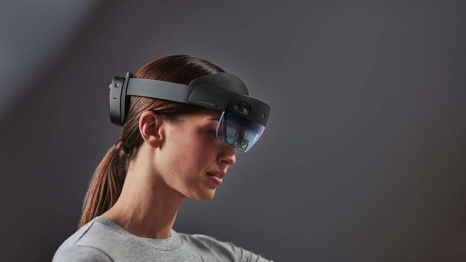 Le casque de réalité augmentée HoloLens 2, de Microsoft