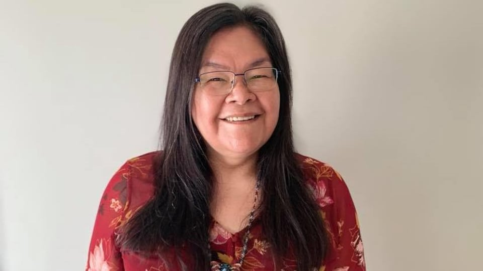 Yvette Mollen, innue de la communauté d'Ekuanitshit