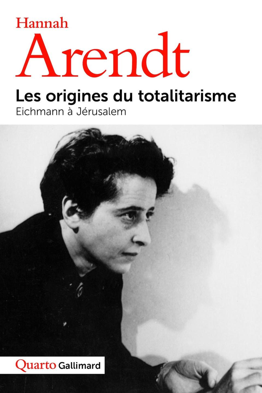 Page couverture de l'essai Les origines du totalitarisme.