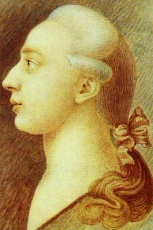 Peinture représentant Giacomo Casanova de profil.