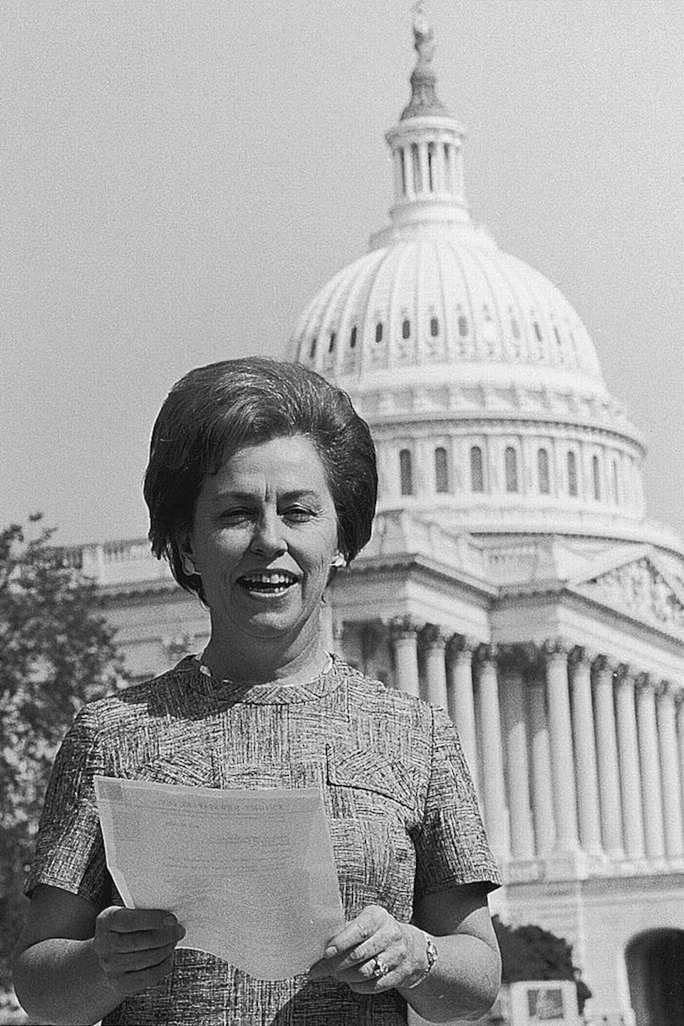 La représentante Martha Griffiths en 1970.