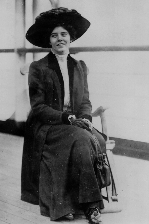 Alice Paul, fondatrice du National Woman's Party, en 1912.