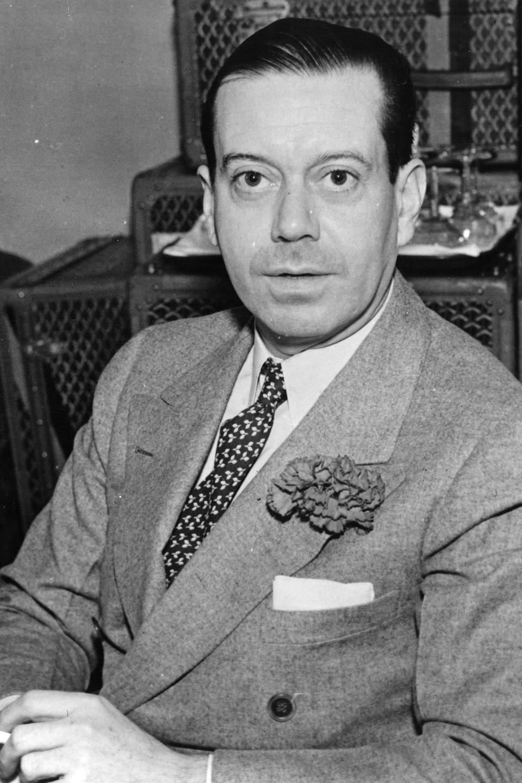 Le compositeur et parolier Cole Porter.
