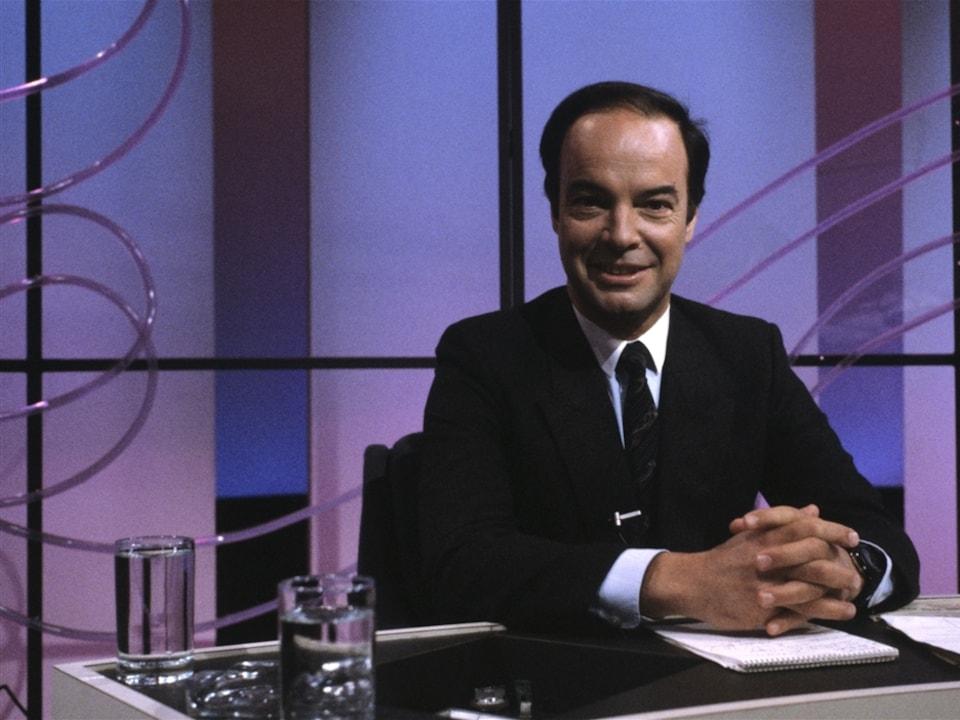 Pierre Nadeau en 1984.