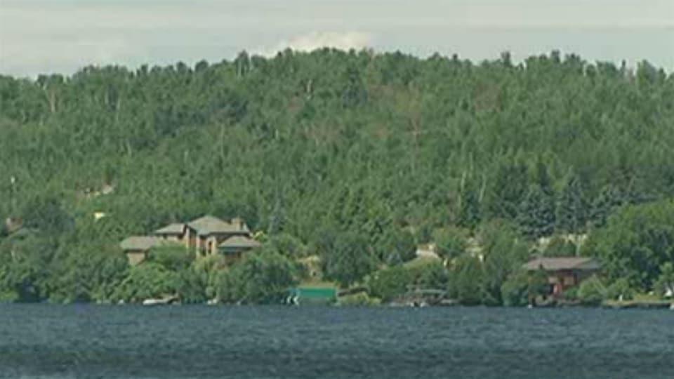 Le lac Long près de Sudbury