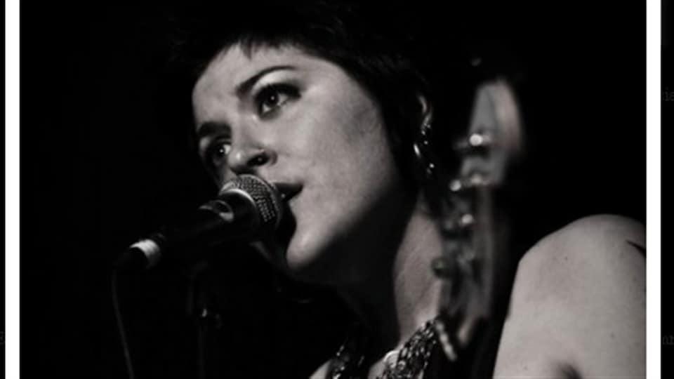 La chanteuse Tricia Foster