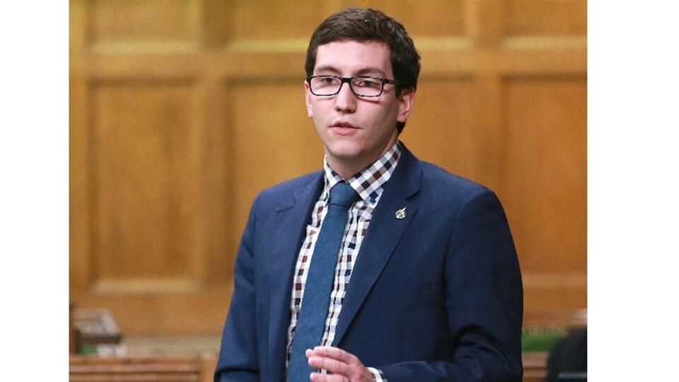 Pierre-Luc Dusseault, député néo-démocrate de Sherbrooke