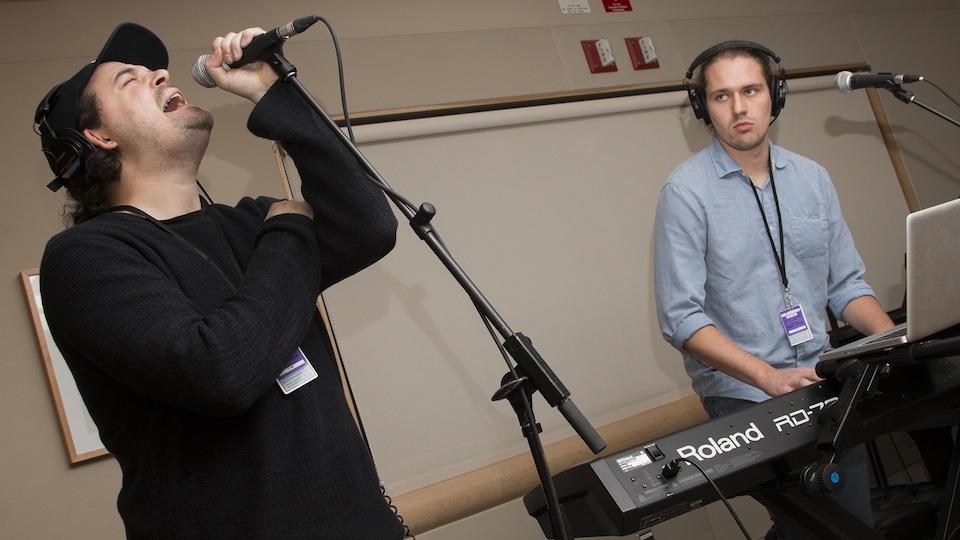 Planantes atmosphères musicales avec Thomas Casault et Louis-Étienne Santais de Fjord