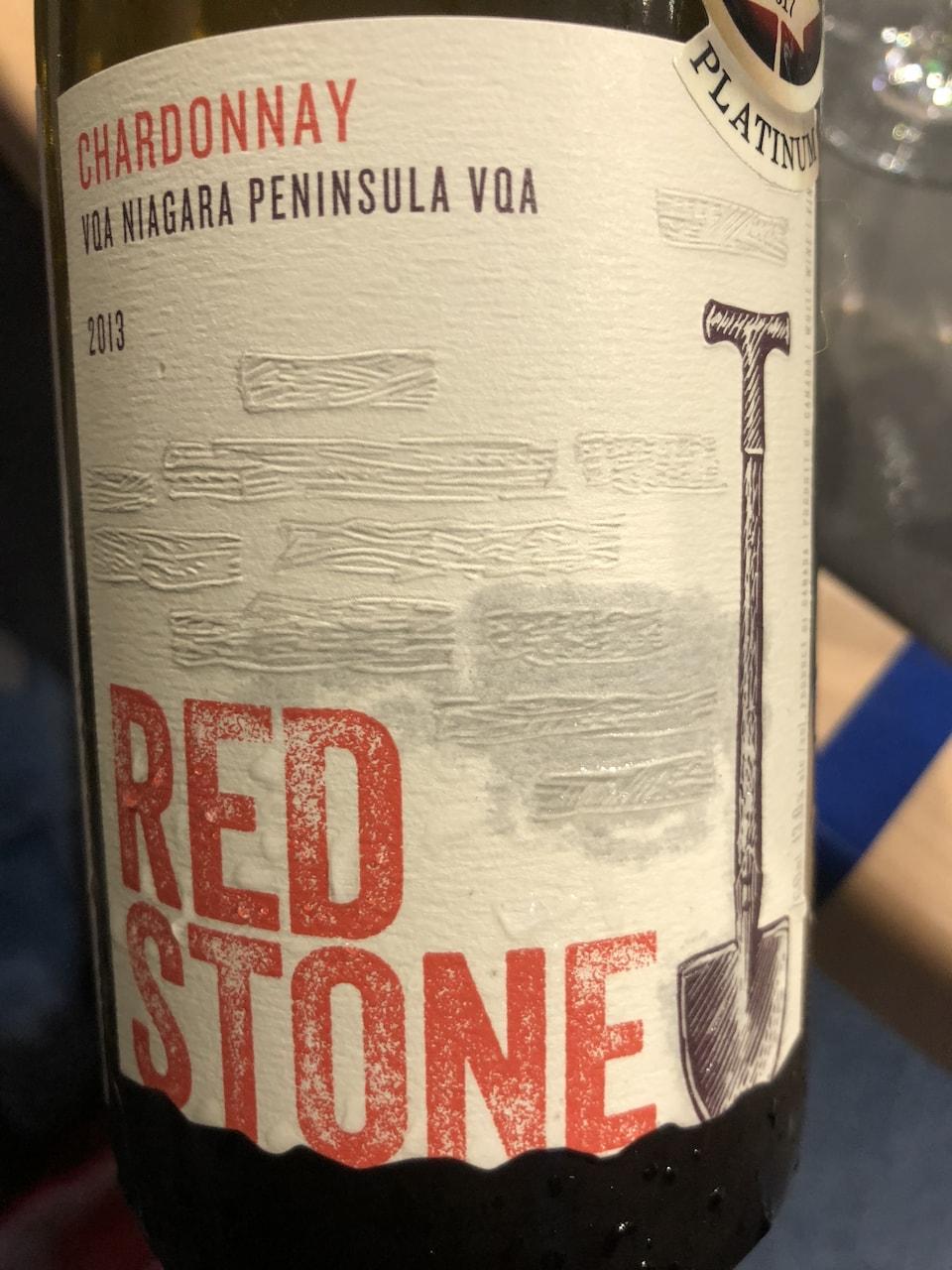 Redstone Chardonnay 2013 | Code SAQ 13566775 | 25,95$