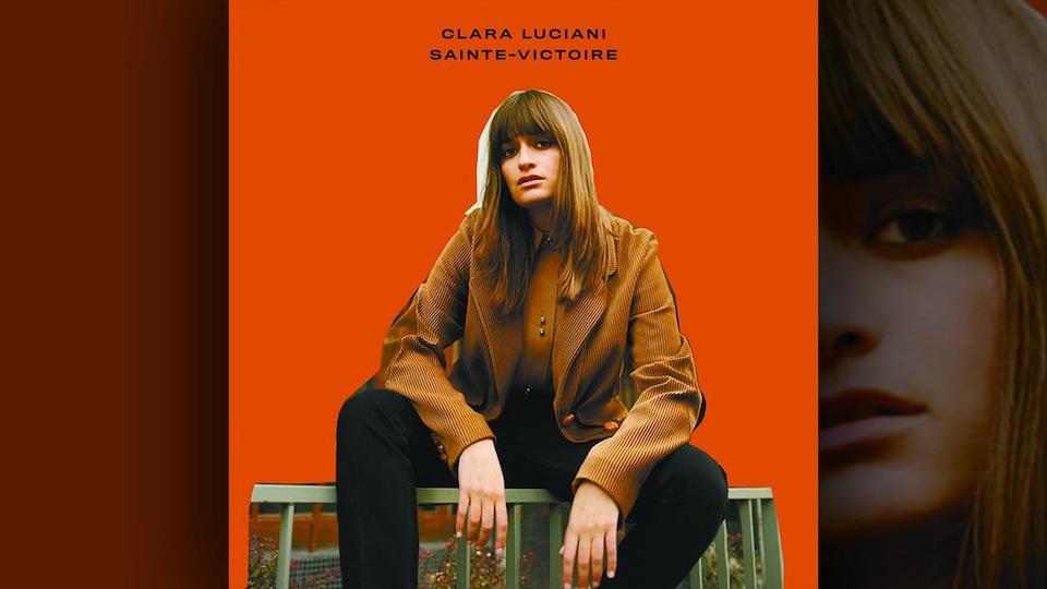 La couverture de l'album <i>Sainte-Victoire</i> de Clara Luciani
