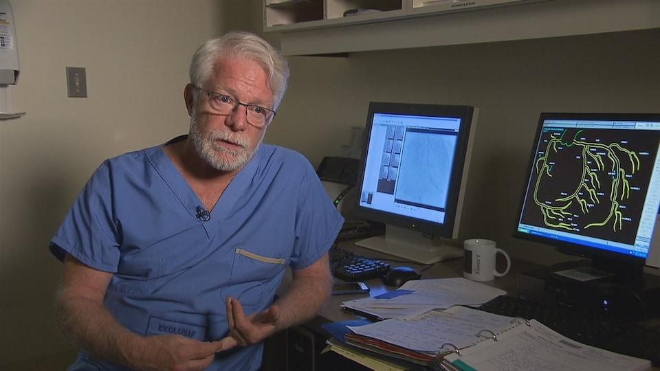 Le cardiologue, Dr François Reeves.