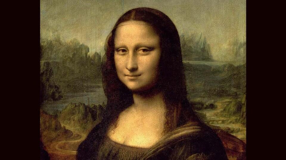 Mona Lisa peinte par Léonard de Vinci