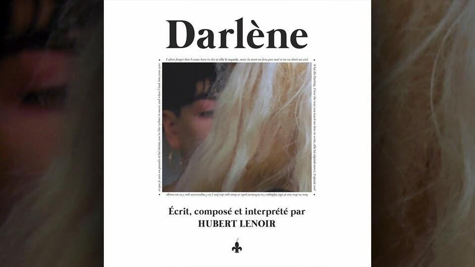 La couverture de l'album <i>Darlène</i> d'Hubert Lenoir