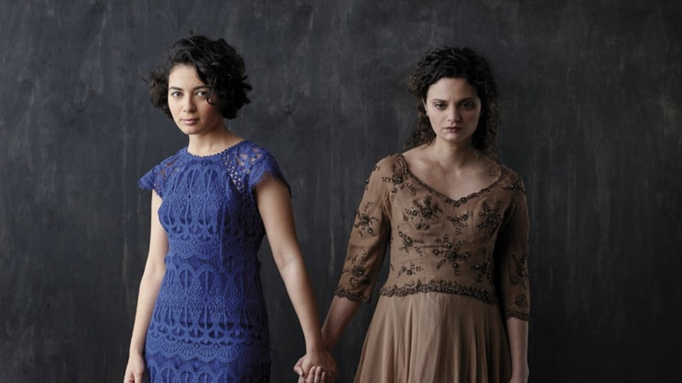 Mounia Zahzam et Sharon Ibgui sont de la distribution de la pièce Antioche.