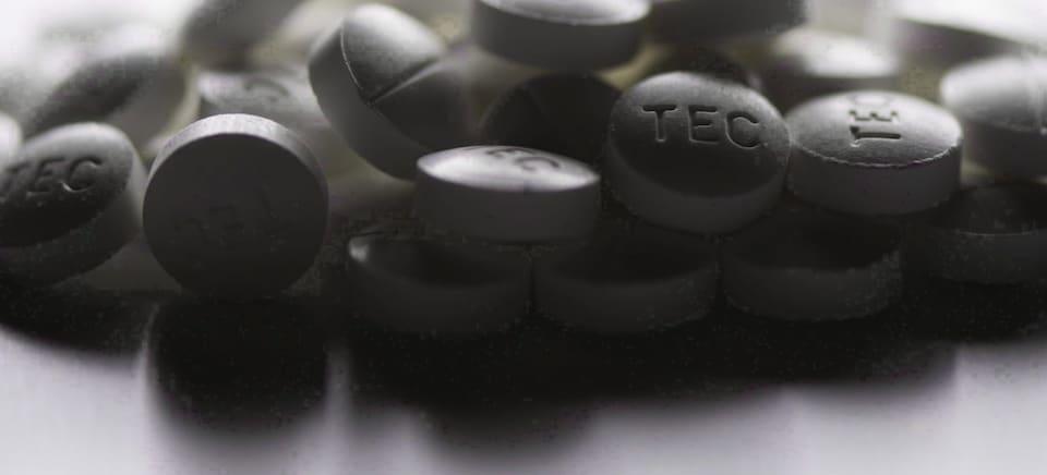 Des comprimés de fentanyl, un puissant analgésique