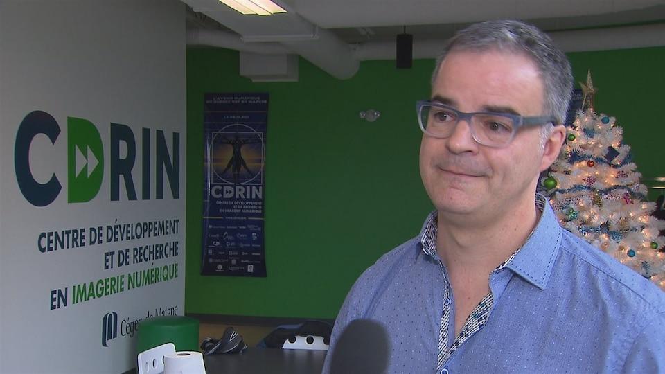 Pierre Bédard, directeur du Cégep de Matane