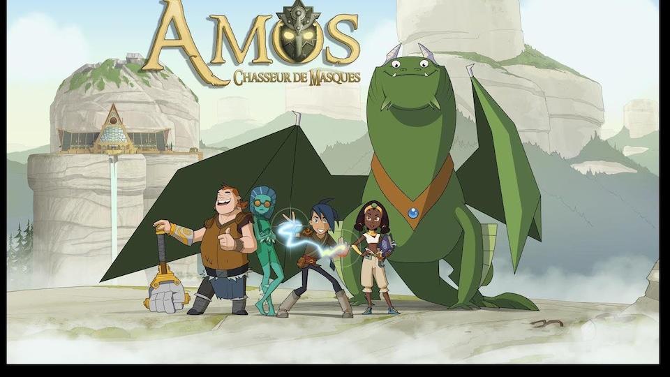 La première saison d'Amos, chasseur de masques, prendra son envol sur Ici Télé.
