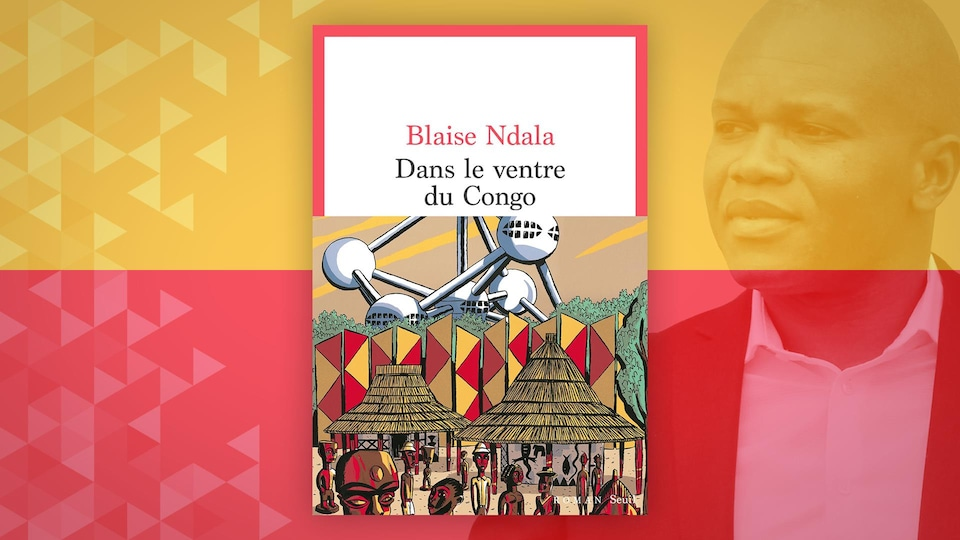 La couverture du livre Dans le ventre du Congo, de Blaise Ndala.