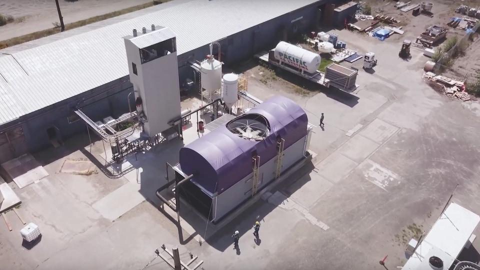 L'usine pilote de Carbon Engineering à Squamish, en fonction depuis 2015, a démontré qu'il était possible de capturer du carbone de l'atmosphère.