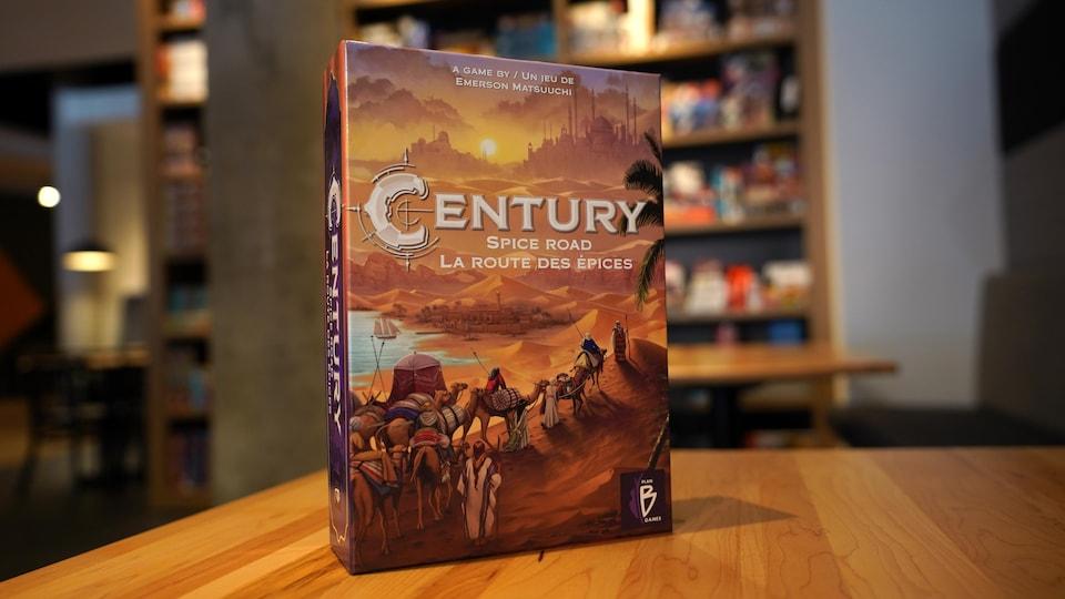 La boîte du jeu Century.