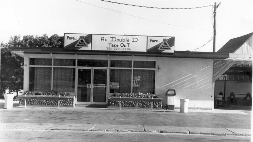 Le restaurant en 1970.