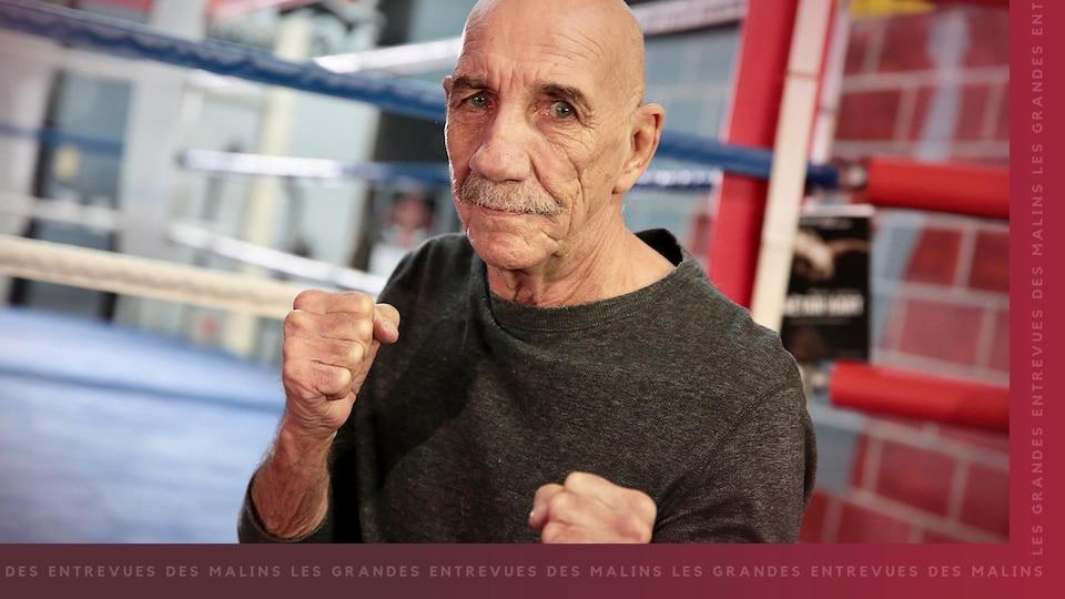 Le boxeur Gaëtan Hart