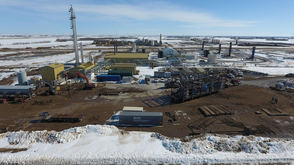 En juillet dernier, l'entreprise Inventys annonçait avoir reçu un financement de 11 millions de dollars américains de Husky Energy pour son usine pilote visant à capturer l'équivalent de 30 tonnes de carbone par jour.