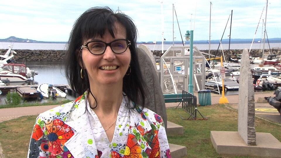 Julie Carrière, directrice générale de l'INREST.