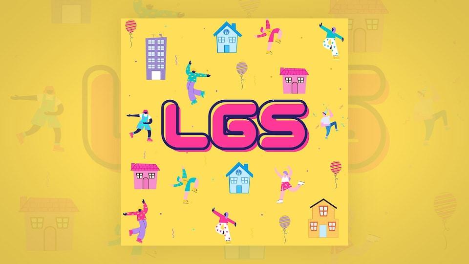 La pochette de du nouvel album éponyme du groupe LGS.