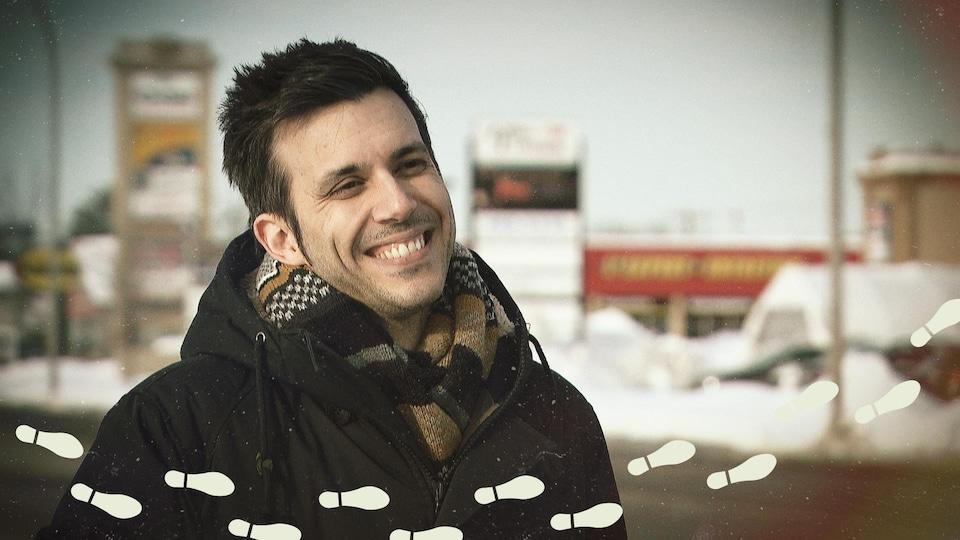 Daniel Coutu, souriant.