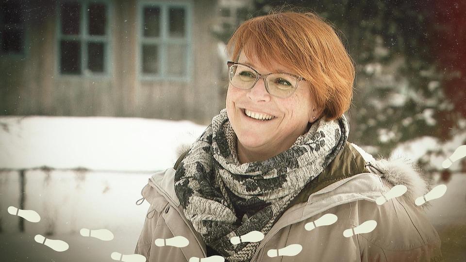 Kira Ehlers, souriante.