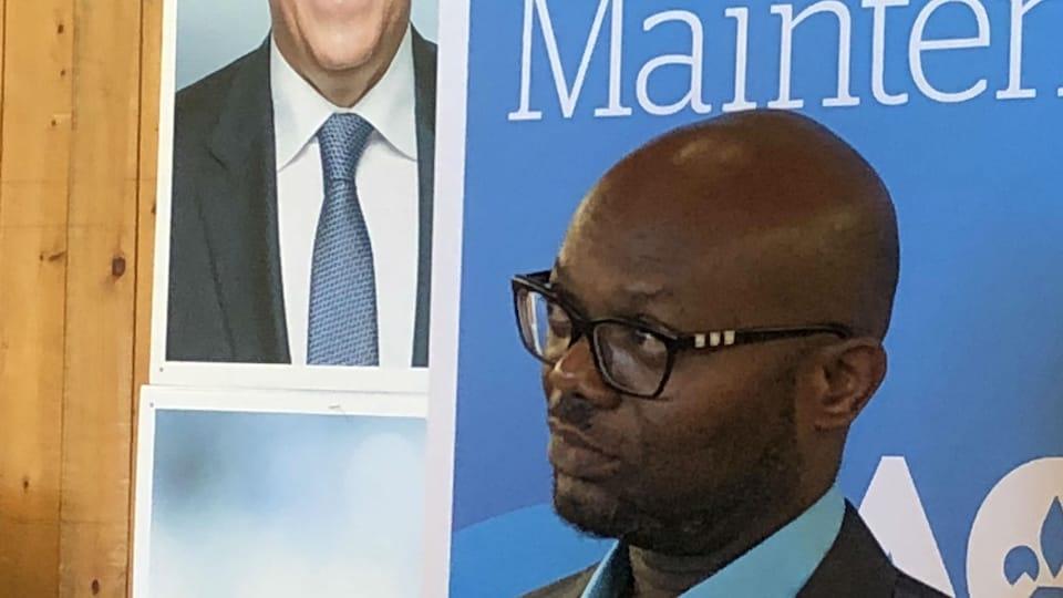 Mathieu Quenum, candidat de la CAQ dans Matane-Matapédia