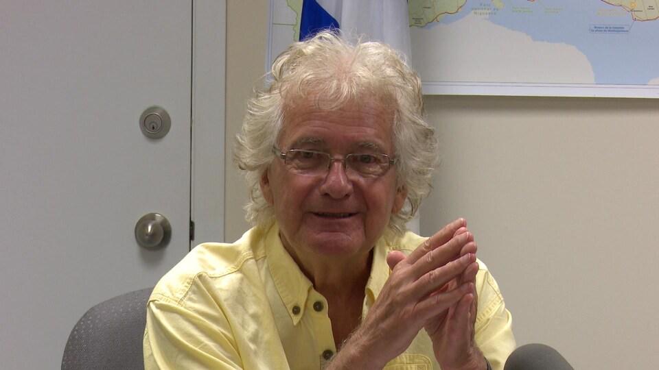 À 85 ans, Matthias Rioux vient de compléter un doctorat en sociologie politique et développement régional à l'Université Laval.