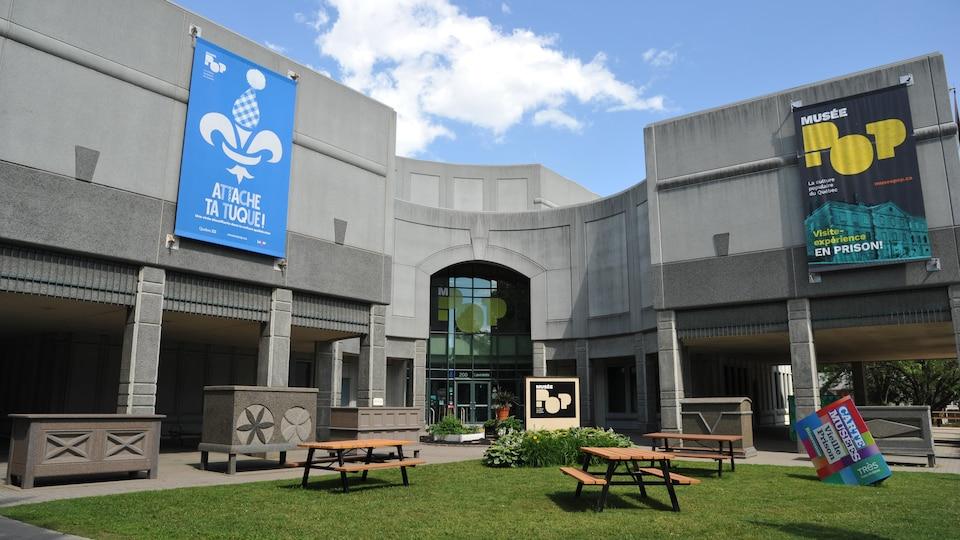 Façade du Musée POP, à Trois-Rivières.