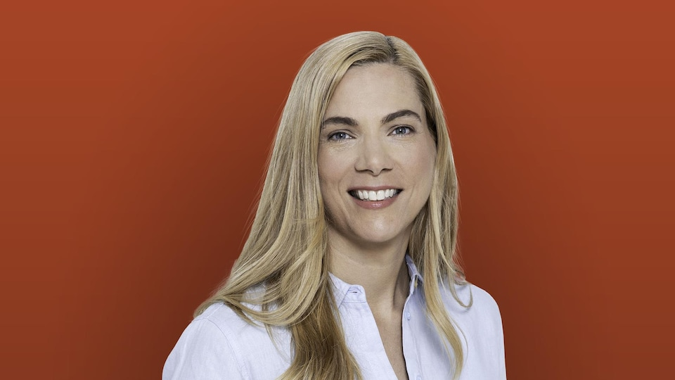 La candidate du Parti libéral dans Brome-Missisquoi, Pascale Saint-Onge