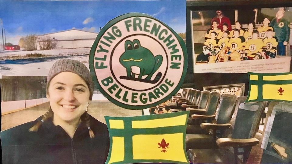 Images de Delphine Lenouail à la patinoire de Bellegarde