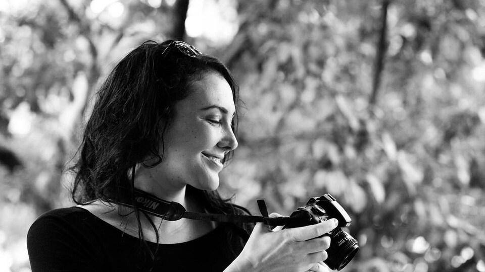 La photographe Arianne Clément.