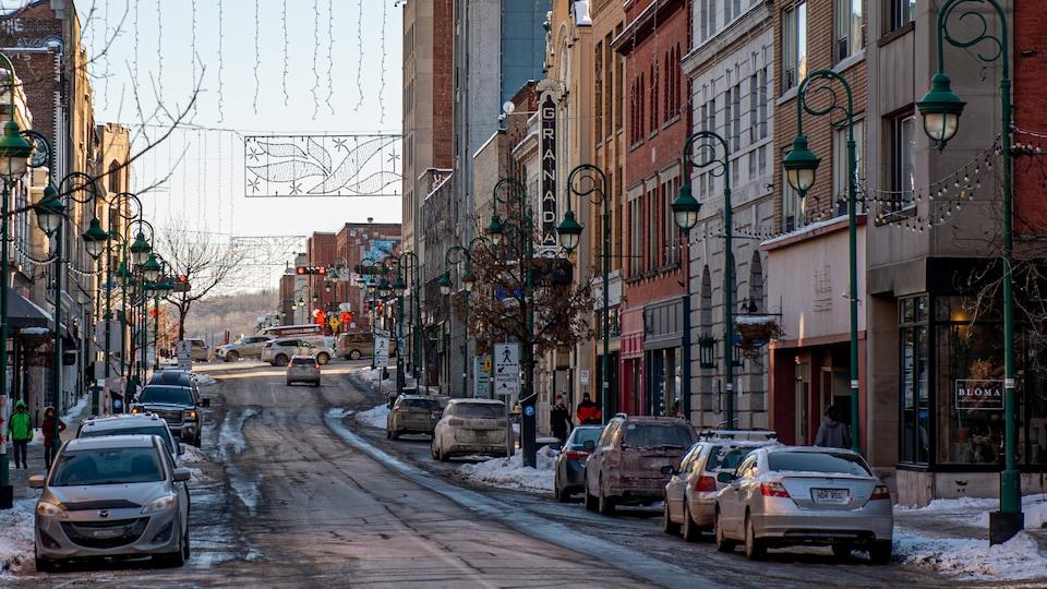 La rue Wellington Nord, à Sherbrooke