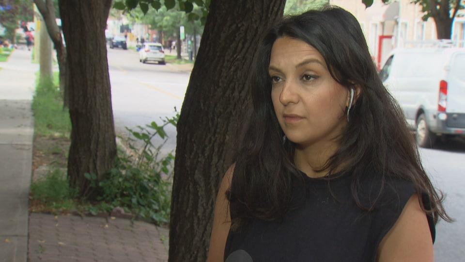 Susan Khazaeli, en entrevue.