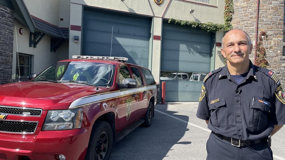 Le directeur de la gestion des urgences de Banff, Silvio Adamo.