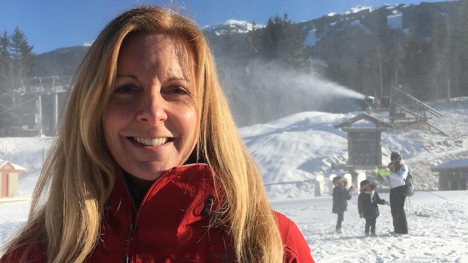 Allana Williams, responsable du développement durable à Whistler Blackcomb (Vail Resorts).