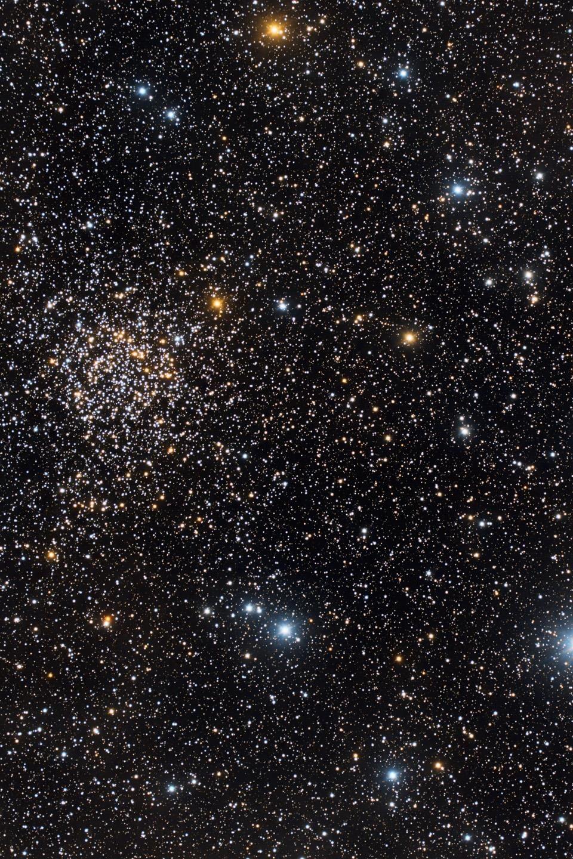 L'amas ouvert NGC 7789 de Cassiopée.