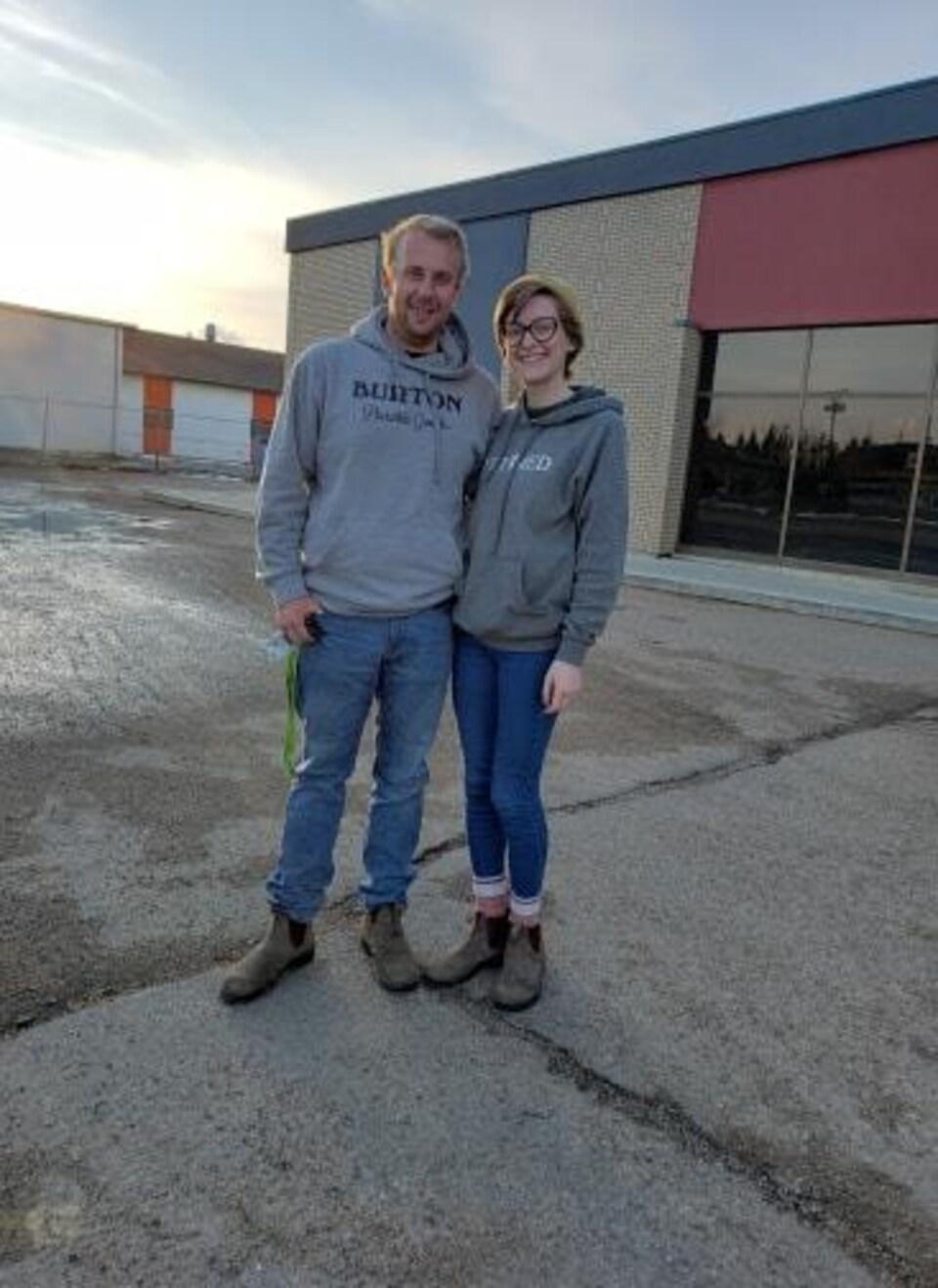 Thomas Bex et Stephanie Wakefield