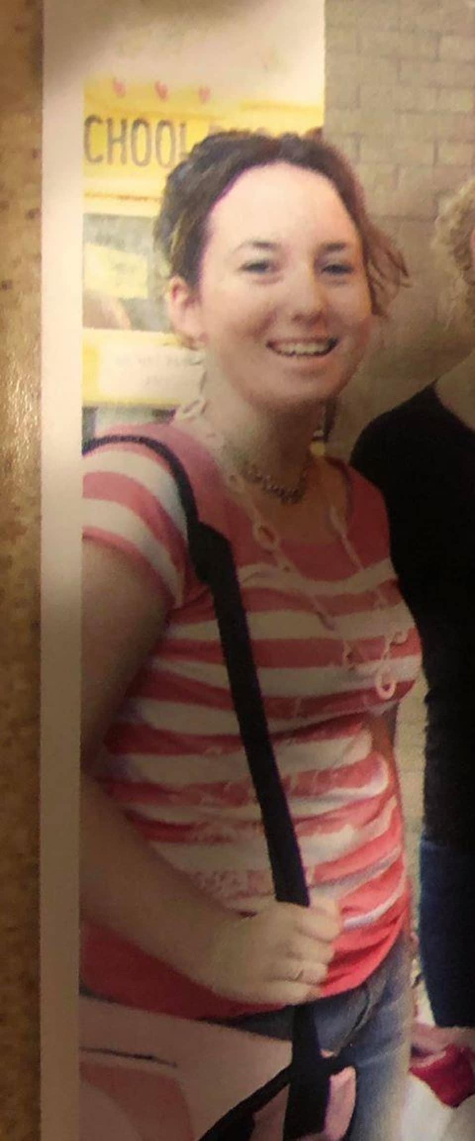 Danielle Proulx Gaudet, sa première journée de 12e année à l'École Providence de Vonda en 2006.
