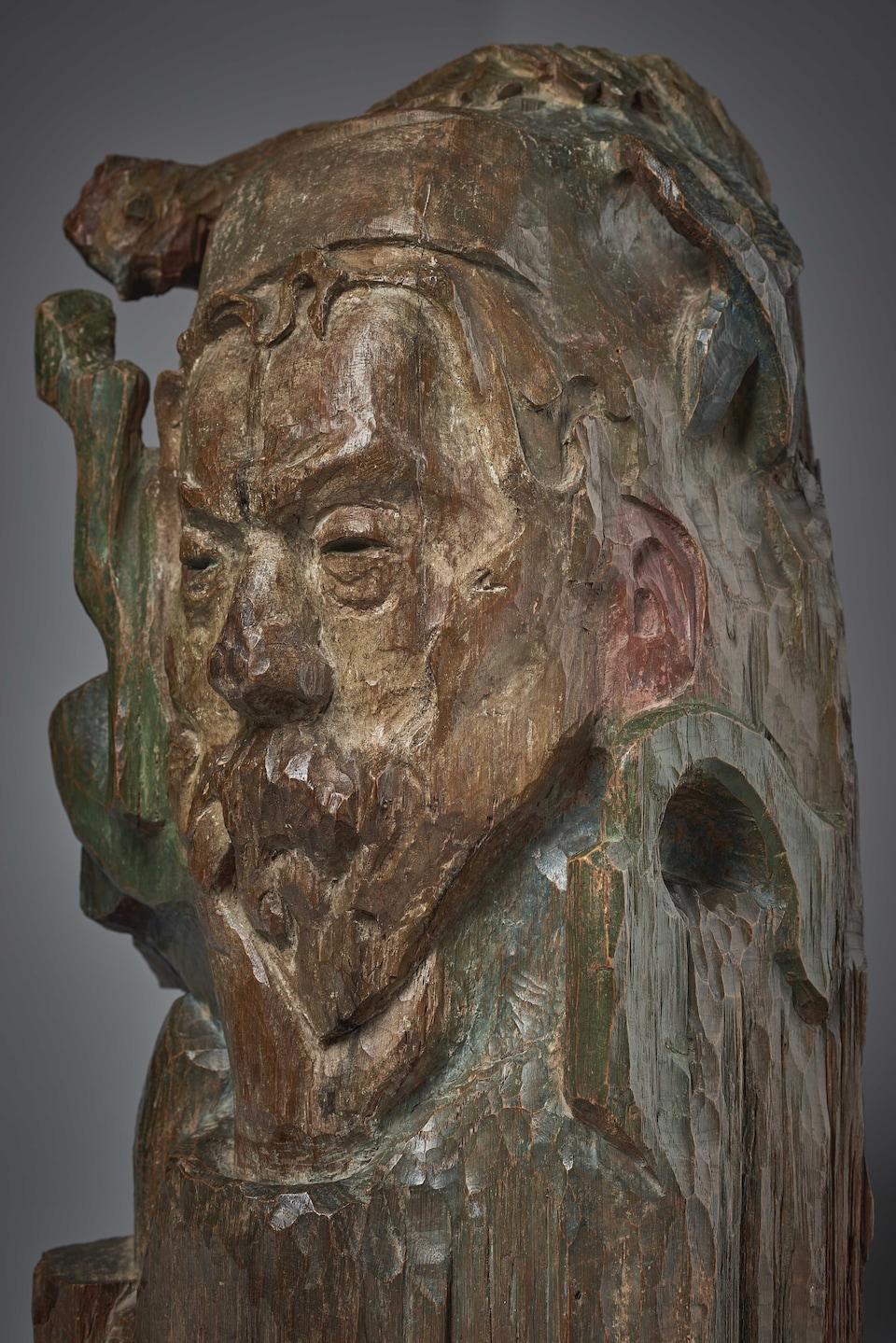 Une sculpture de Paul Gauguin