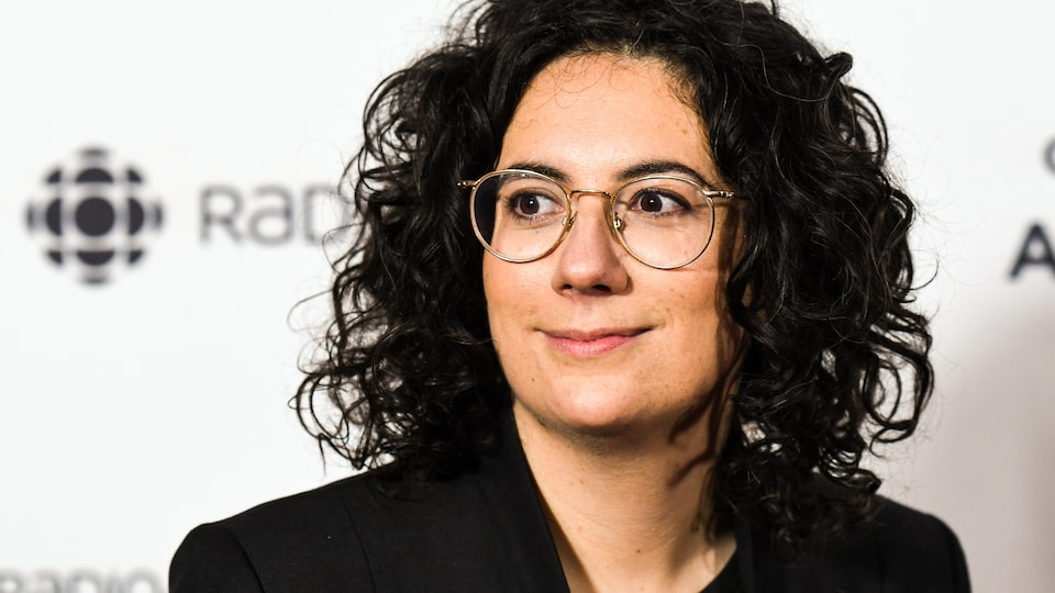 Alexandra Stréliski lors du gala de l'ADISQ 2019