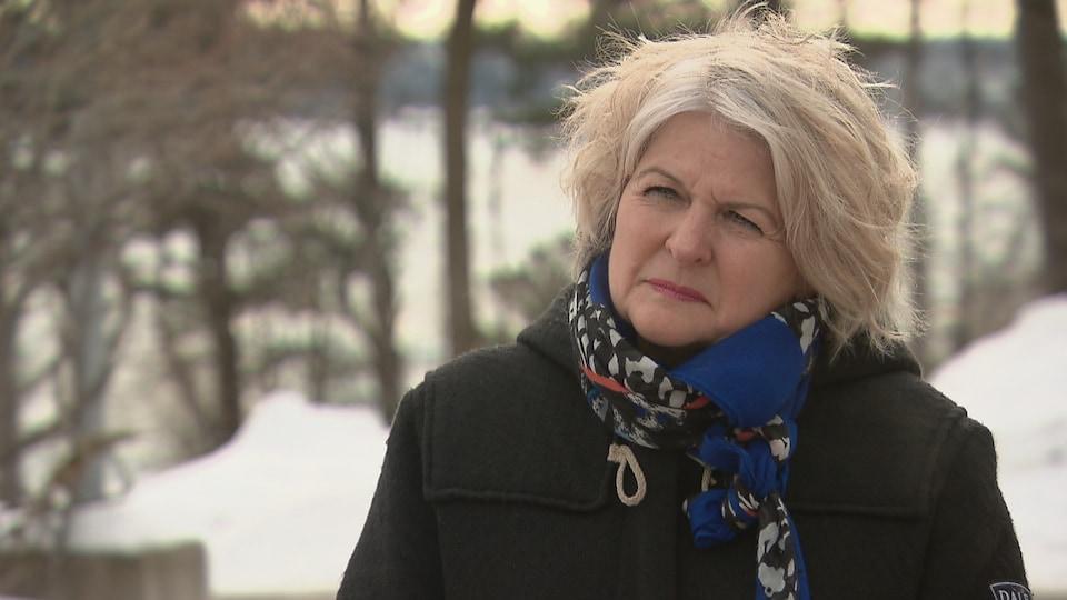 Brigitte Laflamme est la directrice générale de la Maison Michel-Sarrazin qui est une maison de soins de fin de vie et un centre pour les personnes en phase palliative de leur cancer.
