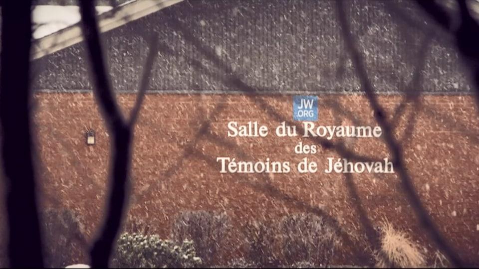 Salle du Royaume des Témoins de Jéhovah.