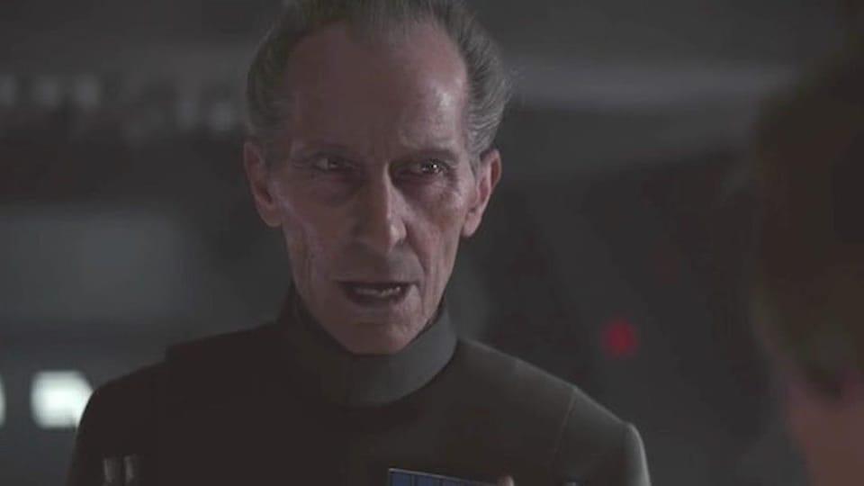 Grand Moff Tarkin, dans le film Rogue One.